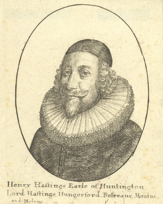 Václav Hollar - Henry Hastings Earl of Huntington