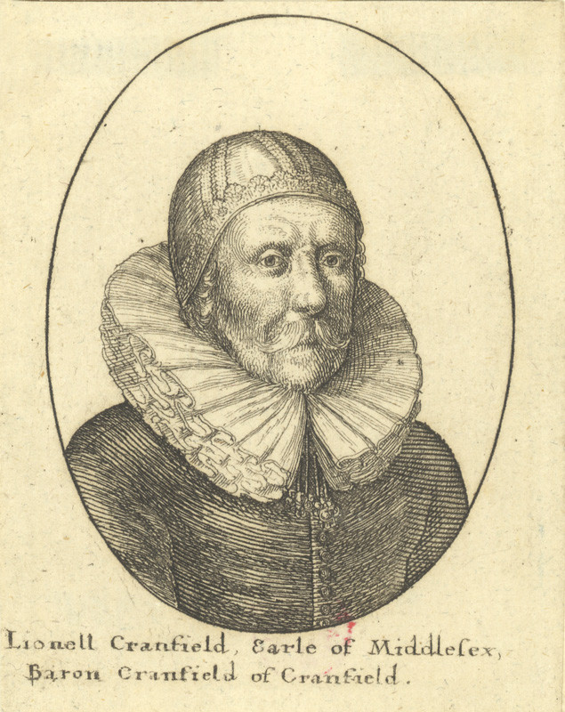 Václav Hollar - Lionell Cranfield Earl of Middlesex