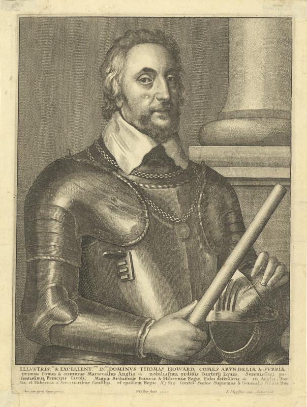 Václav Hollar - Sir Thomas Howard, hrabě z Arundelu, podle Anthonise van Dycka, 1640
