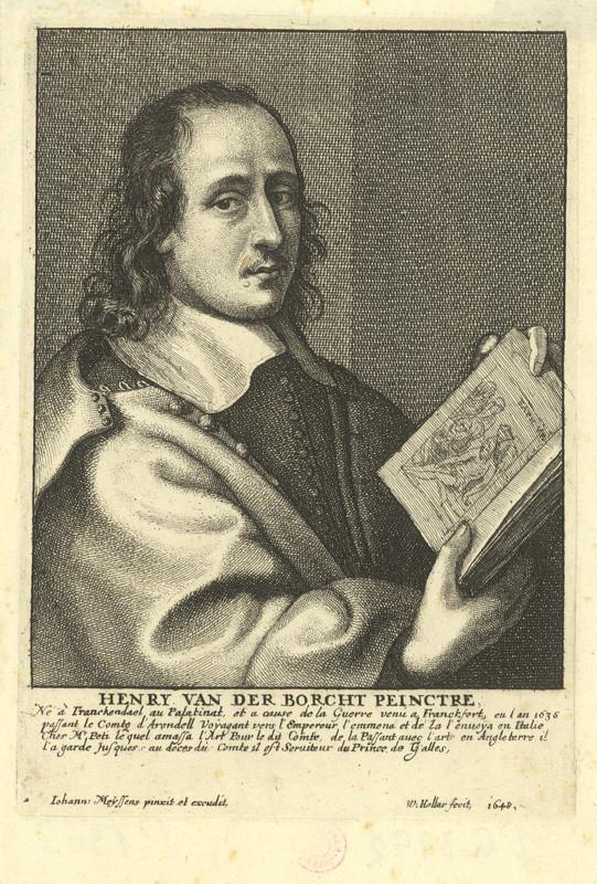 Václav Hollar - Hendrick van der Borcht mladší, podle Joannese Meyssense, 1648